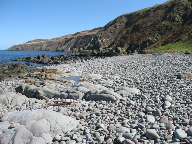 Pebble Beach at Windylaw Cove, near Coldingham
