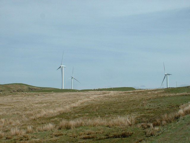 Wind Turbines in the sunshine.....