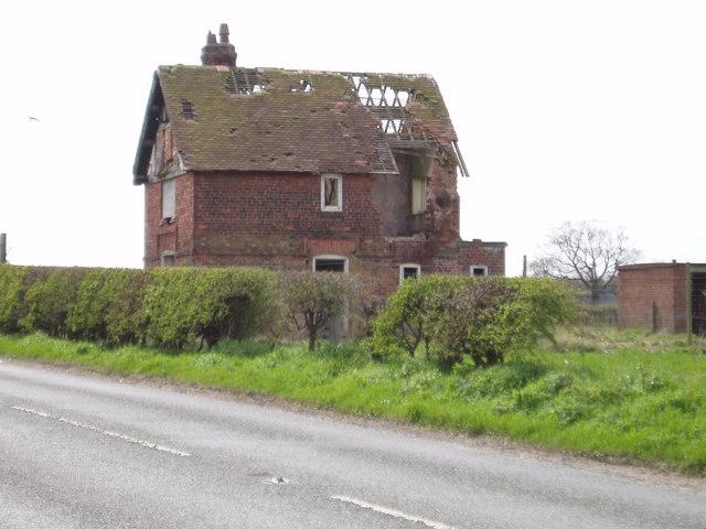 Dairy Farm cottages, Croxton Lane