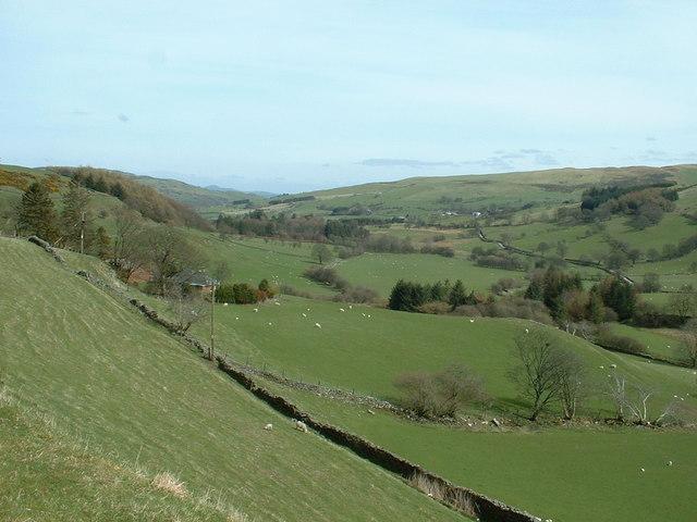Afon Medrad valley