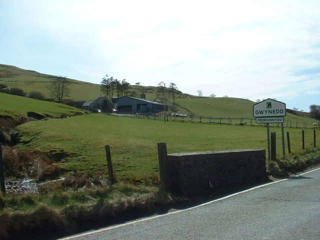 There is a part of Gwynedd......