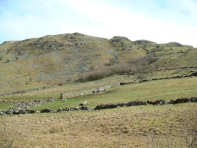 Farmland near Darn-gae