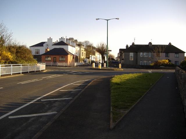 Janet's Corner roundabout, Castletown