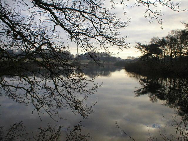 Lake known as Hopton 3