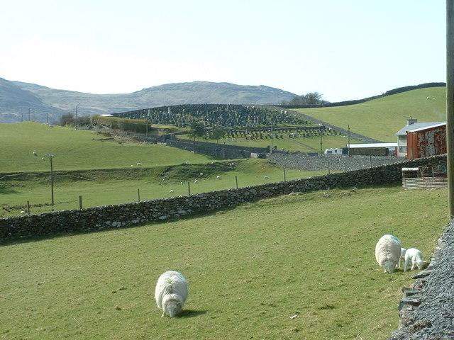 The dead centre of Trawsfynydd