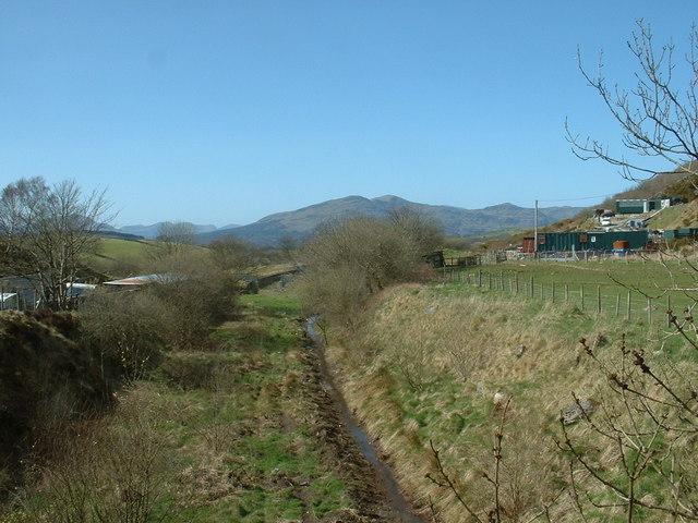 Disused railway near Trawsfynydd