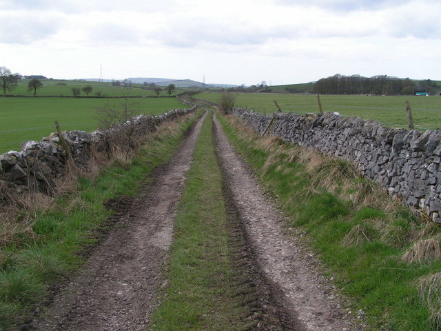 Byway near Lower Barmoor Farm