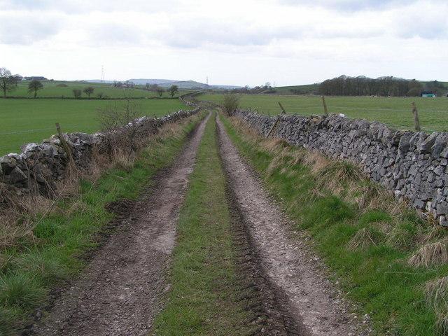 Byway near Lower Barmoor Farm