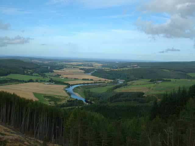 The Spey Valley above Boat o'Brig