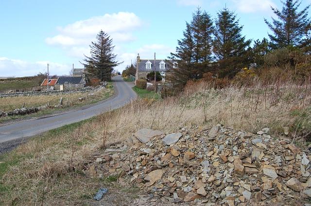 Markethill above Dunbeath