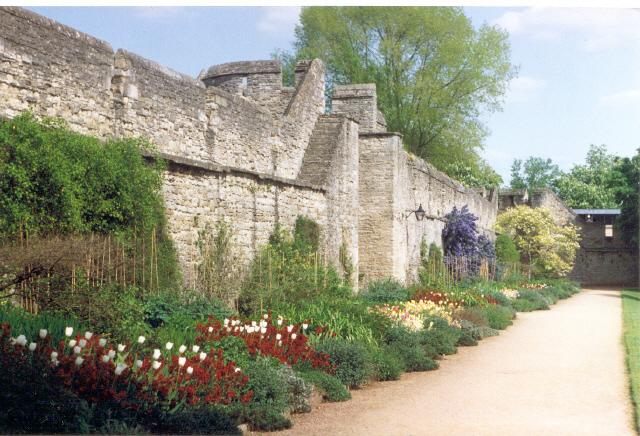 New College gardens Oxford