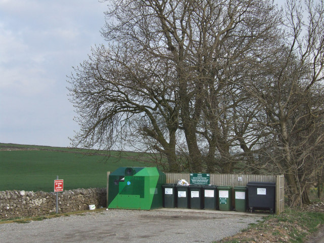 Flagg recycling centre.