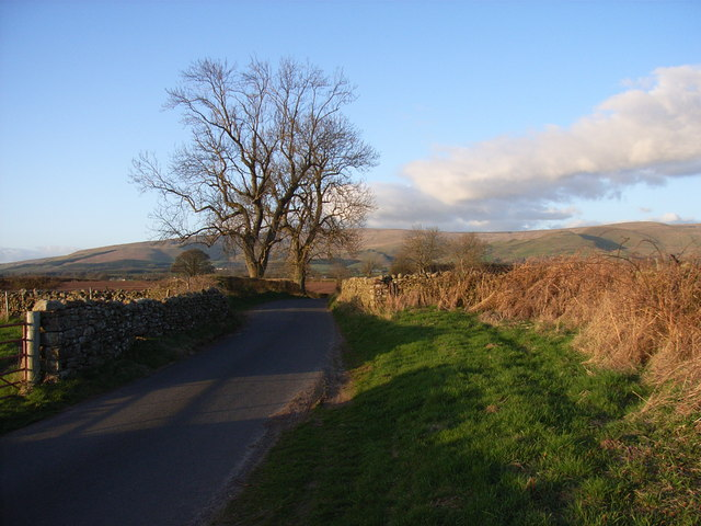 The Skirwith to Ousby road