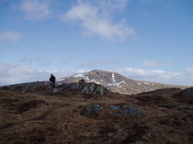The Summit of Beinn Each