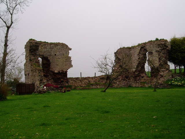 Llanddew Castle