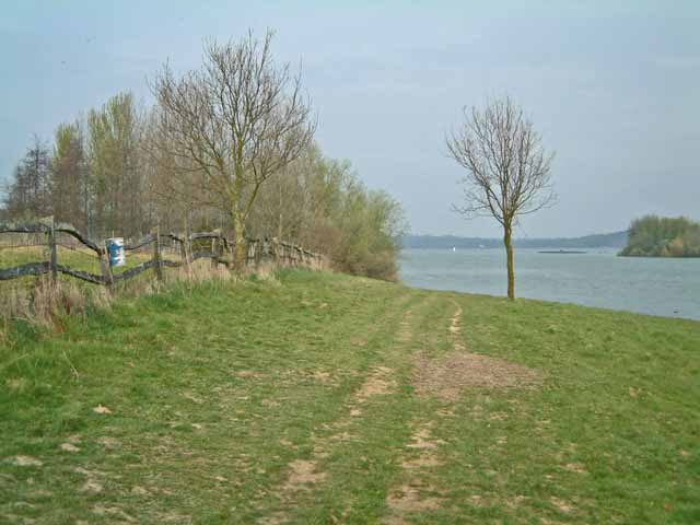 Bewl Water below Lower Butts Farm