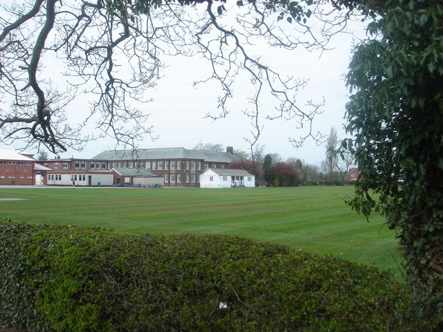 Hutton Grammar School cricket field