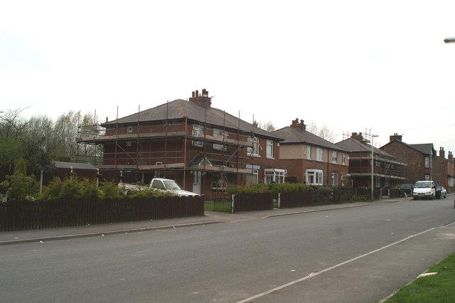 Council housing renovation (2), Westwood Lane, south side