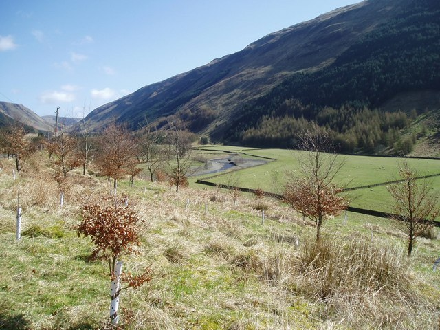 Valley of the Moffat Water