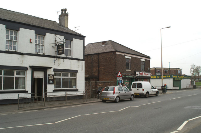 Frontages on Warrington Road
