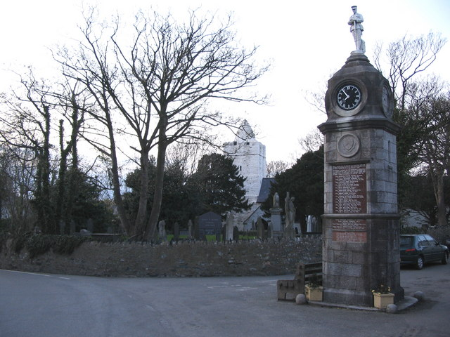 War Memorial at Llanfechell