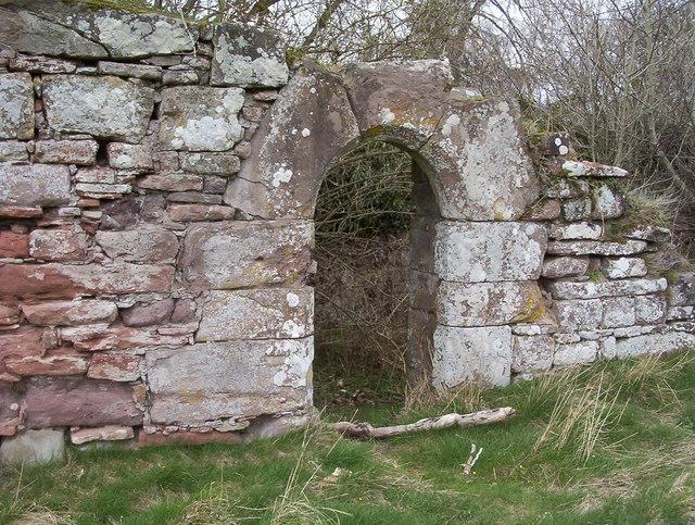 The Old Doorway, Cambusmichael Ruin