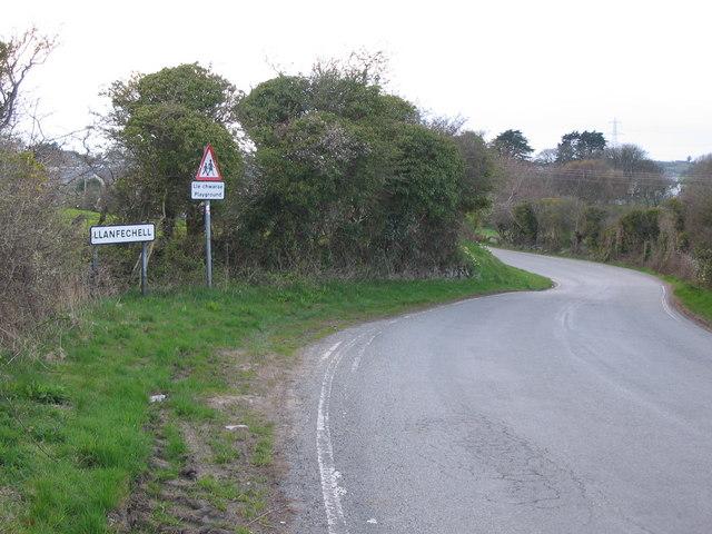 Approaching Llanfechell