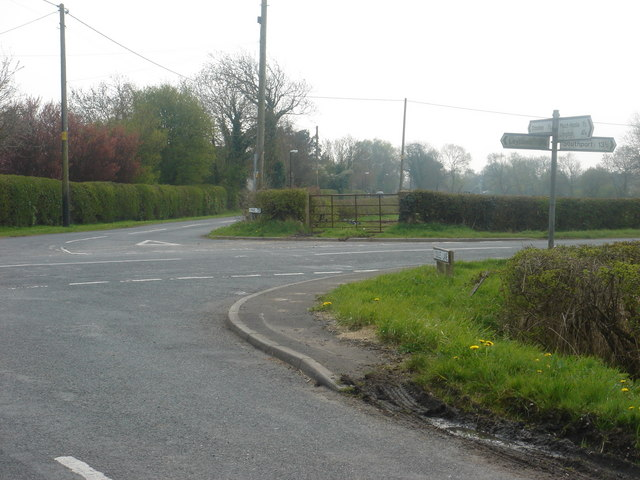 Crossroads at Four Lane Ends