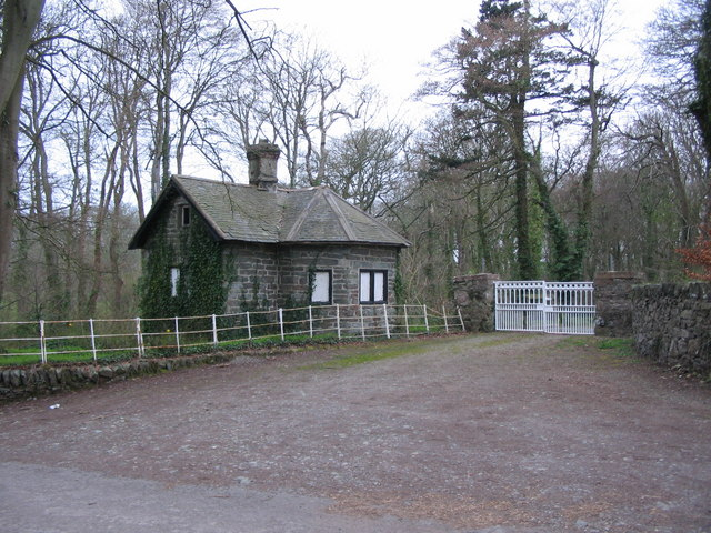 Gatehouse at Llynnon Hall