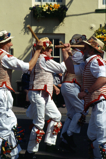 Morrismen at Thaxted