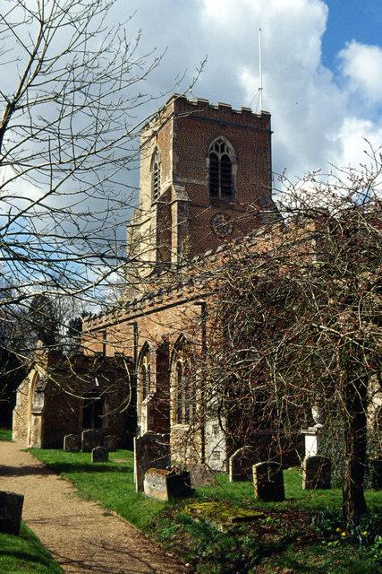 Steeple Bumpstead Church