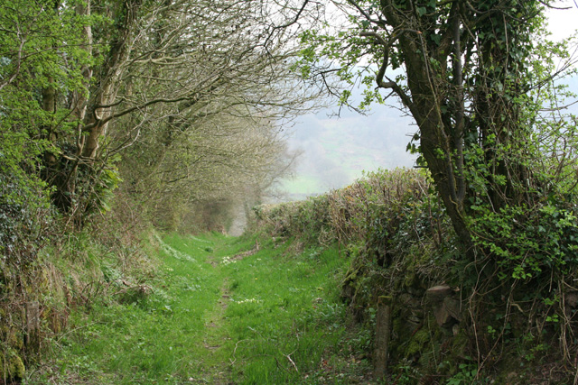 Huish Champflower: footpath to Huish Cleeve