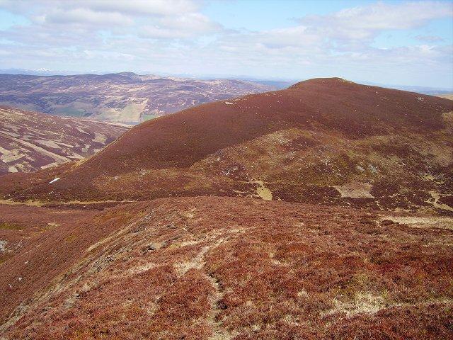 North ridge, Beinn na Gainimh