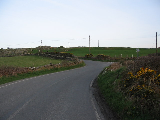 Lane from Llanfechell