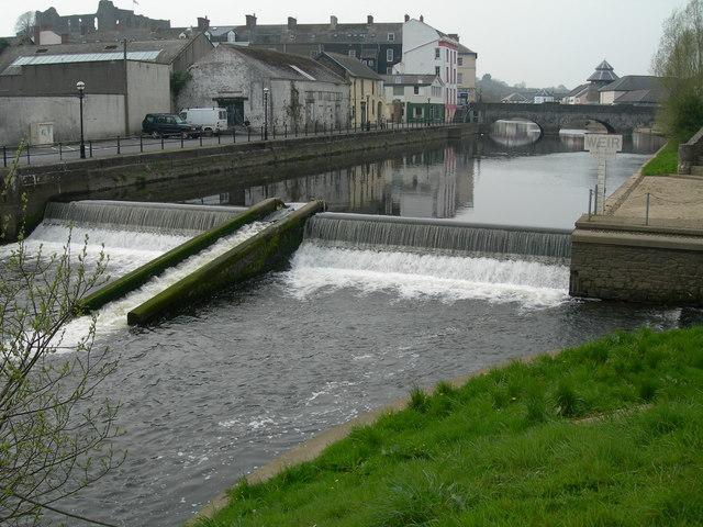 Weir & Salmon run