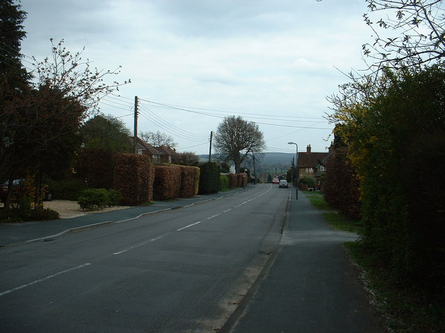 Upper Weybourne Lane, near Aldershot