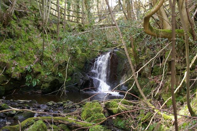 Waterfall, Hesley Lane, Rathmell