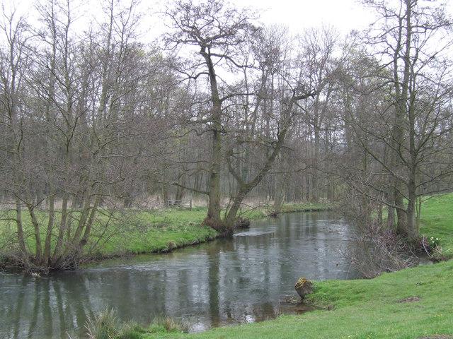 River Wye near Ashford in the Water..