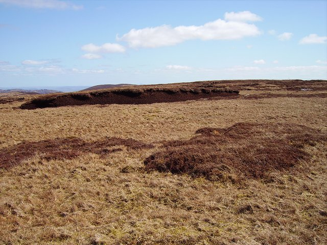 Peat hags, Geal Charn
