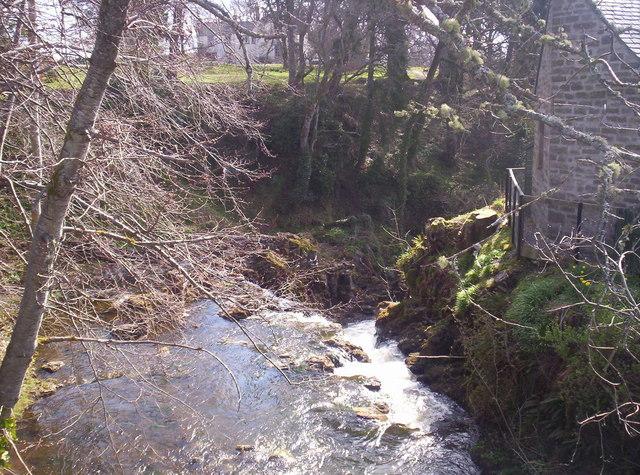 Melgam Water East of the Bridge of Lintrathen