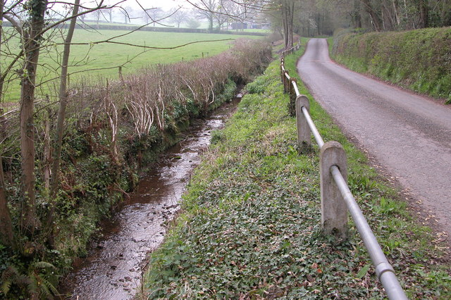 Ditch near Catson