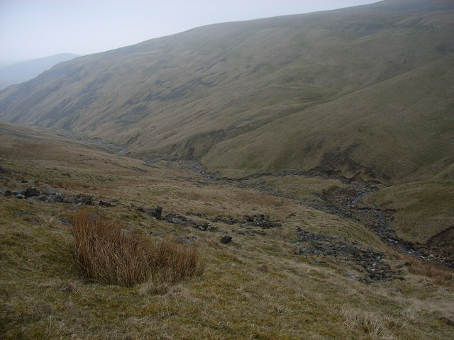 The valley of Knock Ore Gill