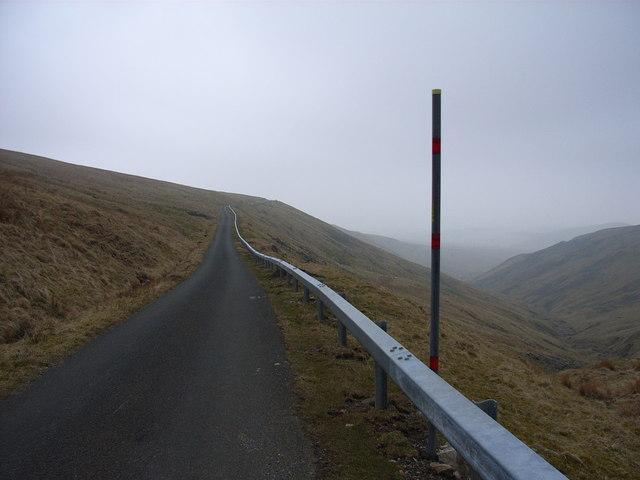 The Dun Fell road