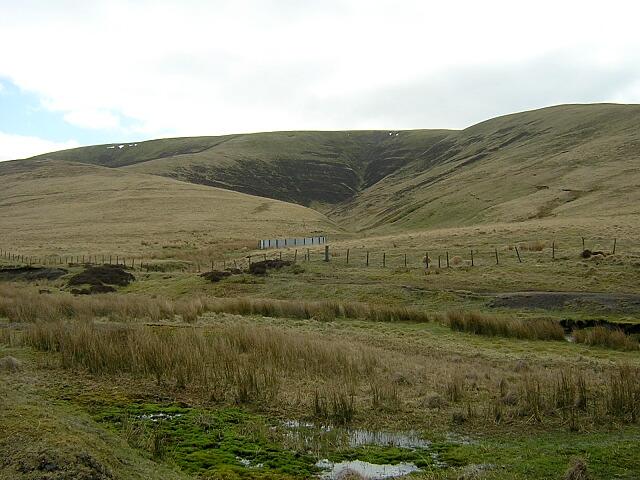 Glen on North Flank of Stood Hill