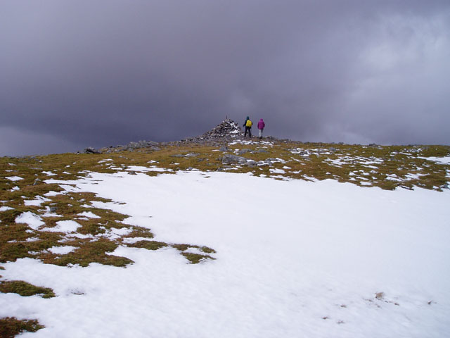 Summit of Beinn Odhar