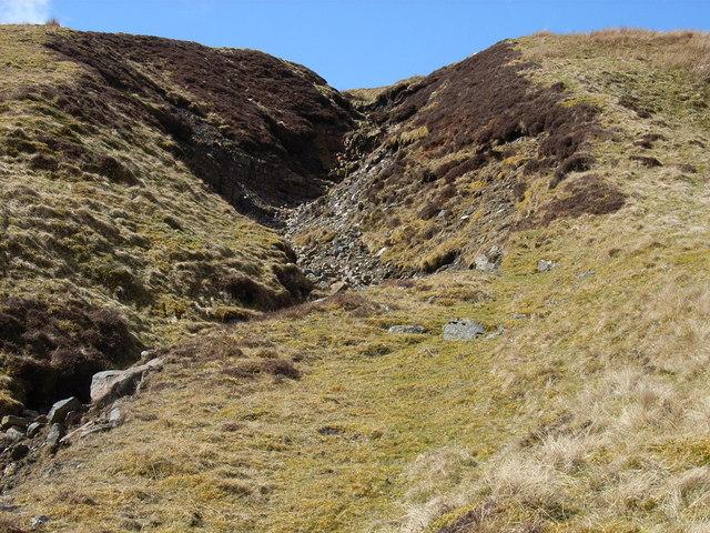 Clough above Cross Gill