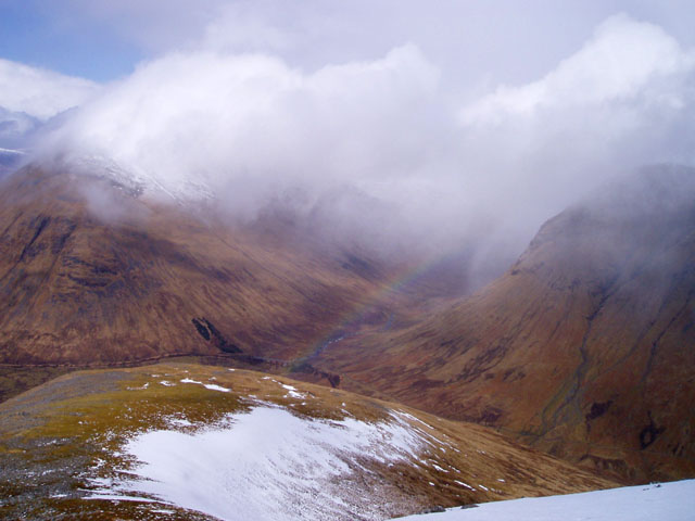 North ridge of Beinn Odhar