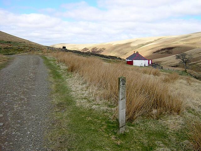 Southern Upland Way at Duntercleuch