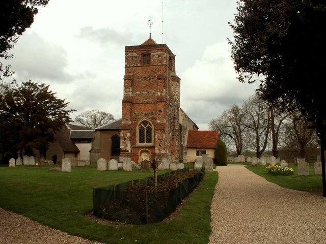 St. Mary's church, Lawford, Essex