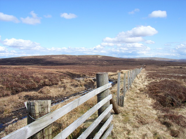 Moorland above Cross Gill